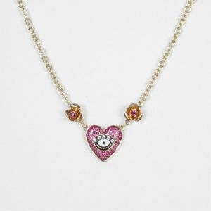 NWT Betsey Johnson Seeing Eye Necklace